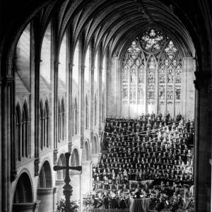 Choir in Hereford Cathedral