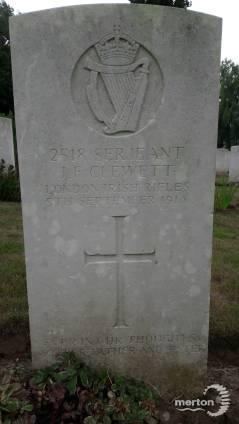 John Clewett's Gravestone