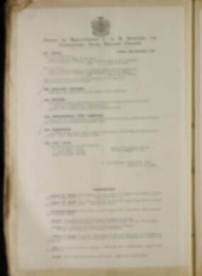 Routine Orders - June 1918 - April 1919 - Page 184