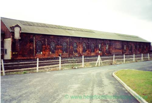 Hereford goods shed, c.1990