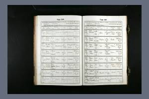 Baptism Record for Walter Carrington Rooke