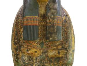 Woman's 'Yellow' Coffin, 21st Dynasty, 900BC