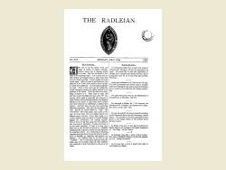 The Radleian 1937 - No. 565 July