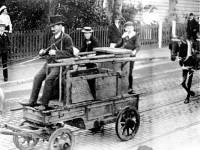The Village Squirt: The original Mitcham fire brigade pump