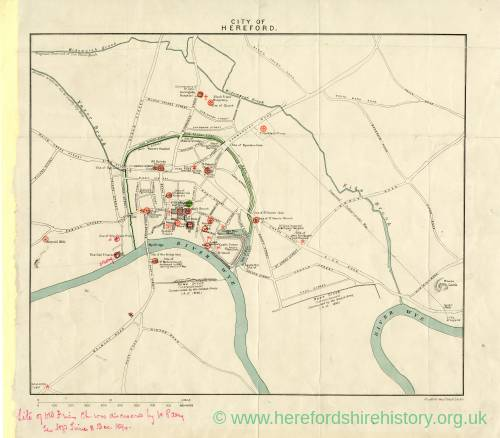 City of Hereford 1894