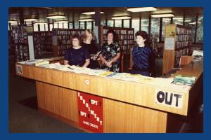 Pollards Hill Library: staff
