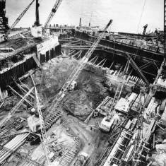 Dry Dock under construction