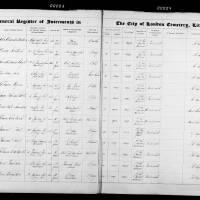 Burial Register 24 - October 1873 to May 1874