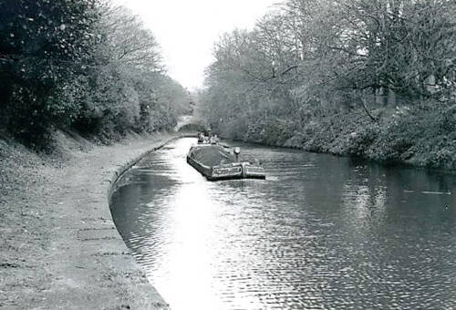 Horsefield boat on the Bridgewater Canal