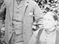 Thomas and Eliza Francis. Parents of Tom Francis