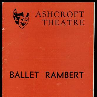 Ashcroft Theatre, Croydon, August–September 1964