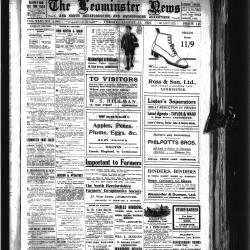 Leominster News - August 1922
