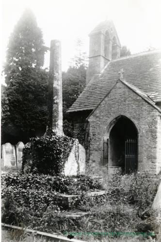 Walterstone Cross, 1917