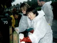 Councillor Vivien Guy, Graffiti Clean-up Day