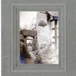 Aylhill, Garden Gate and Miss Probert Photo, 1910