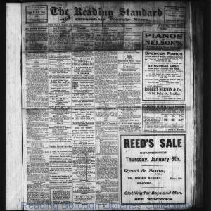Reading Standard Etc 1916