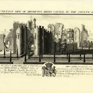 Brompton Brian Castle (Brampton Bryan), 1731