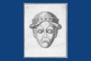 Ancient Head of Stone, Merton Priory