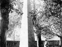Obelisk near The Canons, Madeira Road, Mitcham