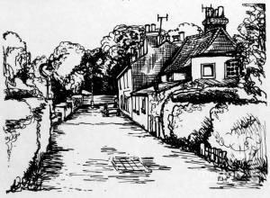 Street scene, Merton Park: Unknown location