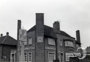 The Sultan pub, Deburgh Road, Wimbledon