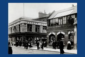 Wimbledon Hill Road at Ely's Corner
