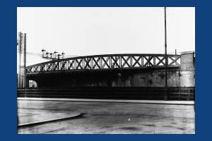 Skew Bridge, Approach Road, Raynes Park,