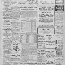 Hereford Journal - 26th October 1918