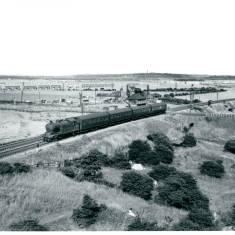 Class A8 at Pontop Crossing