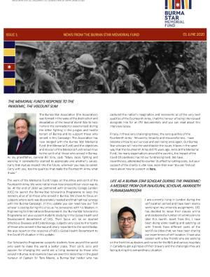 Burma Star Memorial Fund Newsletter Issue 1