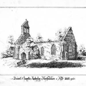 Amberley Chapel, Marden, Herefordshire, 1862