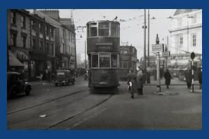 Trams in Broadway, Wimbledon