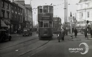 Trams in Broadway, Wimbledon