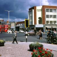 Commercial Square, Commercial Street and Commercial Road, Hereford