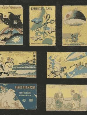 Various propaganda matchboxes