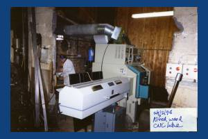 Alfred Wood Ltd: CNC lathe