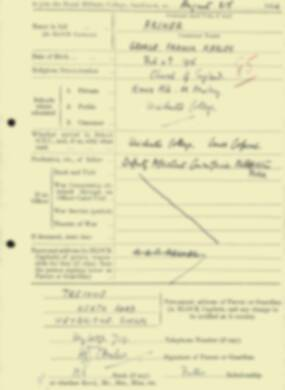 RMC Form 18A Personal Detail Sheets Aug 1934 Intake - page 6