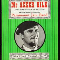 Acker Bilk and the Paramount Jazz Band, Free Trade Hall, Manchester - December 11th 1960 001