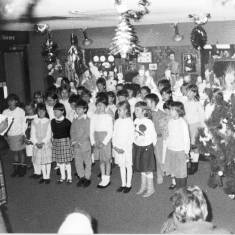 Carol Singing in Central Library