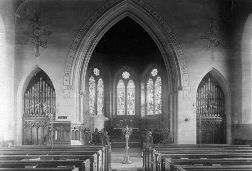 008 The new chancel, 1880