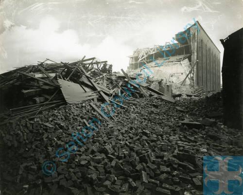 Bomb damage, Blitz