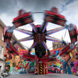 Contemporary photographs of the May Fair, Hereford