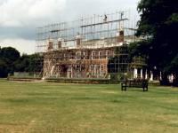 Cannizaro House, Wimbledon: Refurbishment work in progress