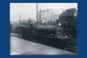 Train at Wimbledon Station