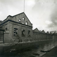 Dundee Works, Canal Street, bomb damge, Blitz