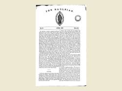 The Radleian 1867 - No.10 April