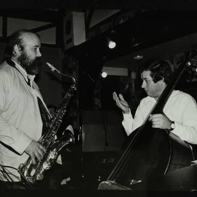 Don Weller and Chris Laurence (left to right)