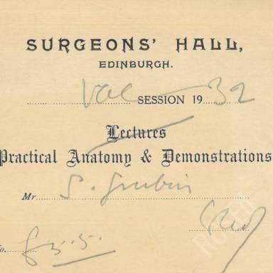 Practical Anatomy & Demonstrations