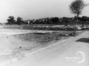 Estate site under construction, Pollards Hill