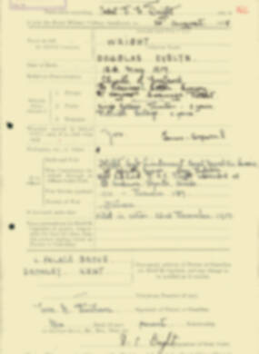 RMC Form 18A Personal Detail Sheets Aug 1935 Intake - page 225